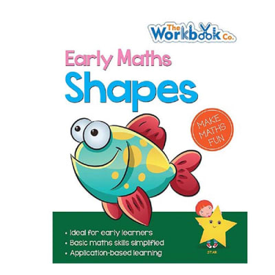 Early Maths  Shapes Practice Work Book  for Pre-School & Early Learners  image