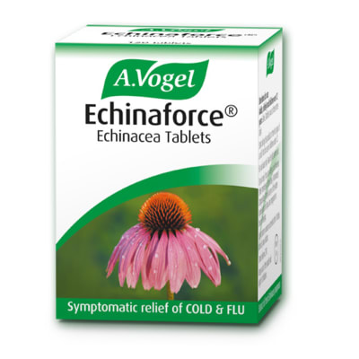 Echinaforce® Echinacea Tablets  Symptomatic Relief of Cold & Flu 120 Tablets image