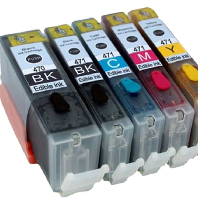 Edible Ink Cartridges   Pgi-470 CLI-471  image