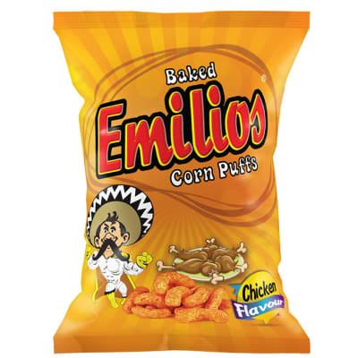 Baked Emilios  Corn Puffs Chicken 48 X 20g image