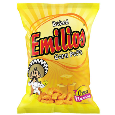 Emilios  Cheese Corn Puffs  48 X 20g image