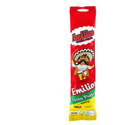 Emilios Snax -  Party Puff - Assorted 400g Tube image