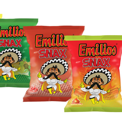 Baked Emilios   Snax  Assorted 50 X18g  image