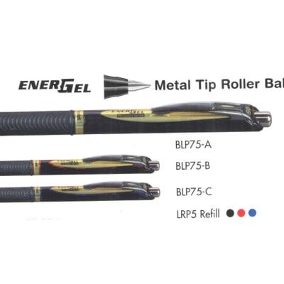 Energel Roller Pens - BLP75  EnerGel Needle Tip Roller Ball Retractable  image
