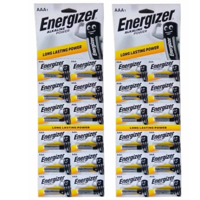 Energizer 12 AAA Strip Alkaline Batteries image
