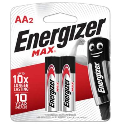 Energizer 2AA Max - Alkaline Batteries image