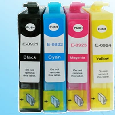 Epson T092  Black and Colour Ink Cartridges image