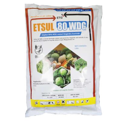 Etsul 80% WDG Fungicide - 1kg image