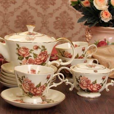 European Coffee cup set tea set ceramic - A004 C image