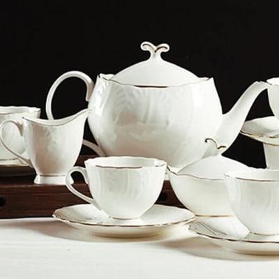 European tea set coffee cup - 34250666207 image
