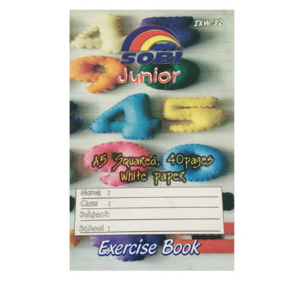 Exercise Book 40P A5 Squared Big image