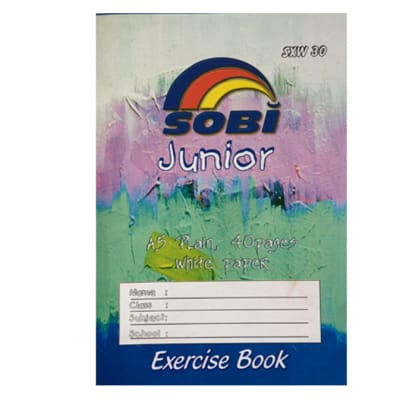 Exercise Book A5 40 Pages Plain image