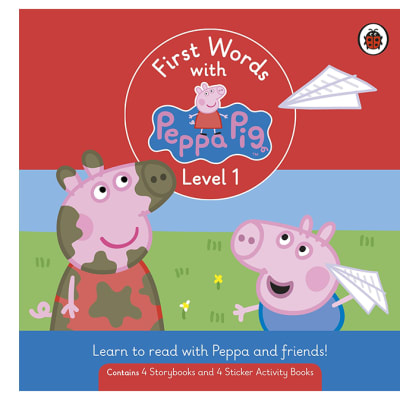First Words with Peppa Pig  Level 1  Box Set of 8 Books image