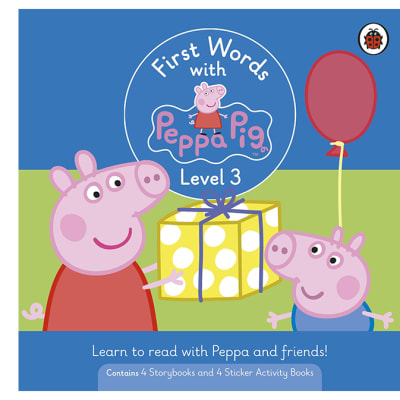 First Words with Peppa Pig   Level 3 Box Set of 8 Books image