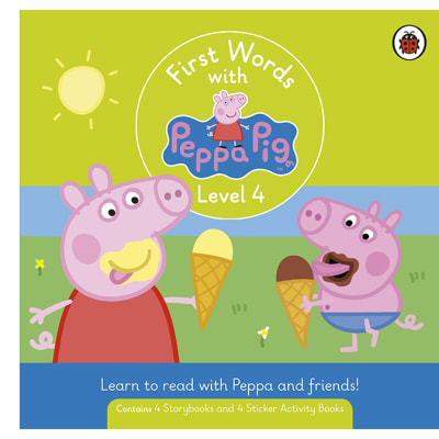 First Words with Peppa Pig   Level 4 Box   Set of 8 Books image