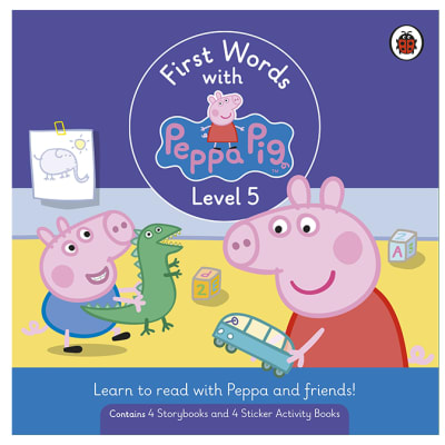 First Words with Peppa Pig Level 5  Box Set of 8 Books  image
