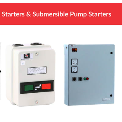 Motor Starters & Submersible Pump Starters image