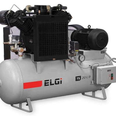 Single & 2 stage industrial air compressors image
