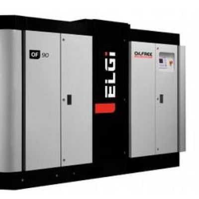Oil-free screw air compressors image