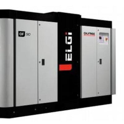 Oil-free screw air compressors image