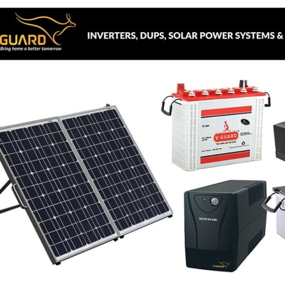 V-Guard - Inverters, DUPS, Solar Power Systems & Inverter Batteries image