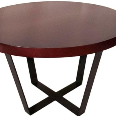 Flat Bar Legs Round coffee table image