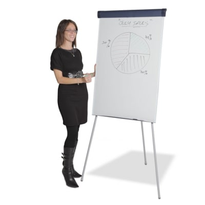 Flip Chart Stand With White Board image