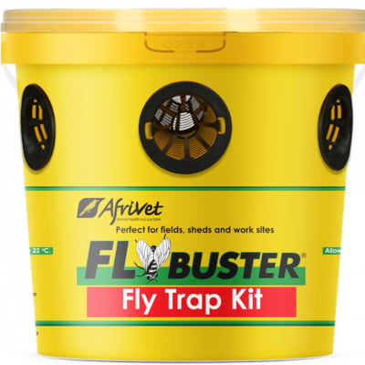 Flybuster  Reusable Non-Toxic Fly  Bait & Trap Kit  image