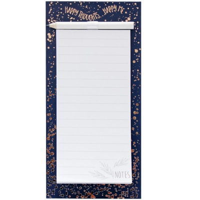 Forget-Me-Not Magnetic List Pad - Happy thoughts, happy me image