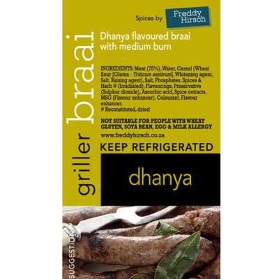 Sausage - Dhanya Braai Griller Label image