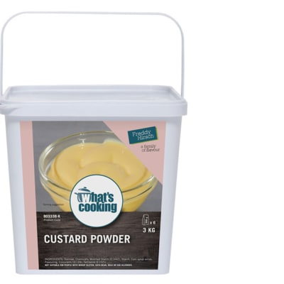 Desserts & Beverages - What's Cooking Custard Powder Tub image