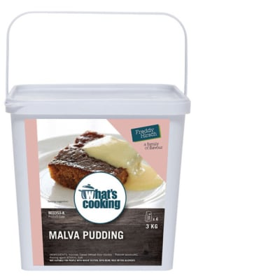 Desserts & Beverages - What's Cooking Malva Pudding Tub NF image