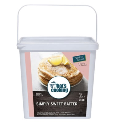 Desserts & Beverages - What's Cooking Simply Sweet Batter Tub image