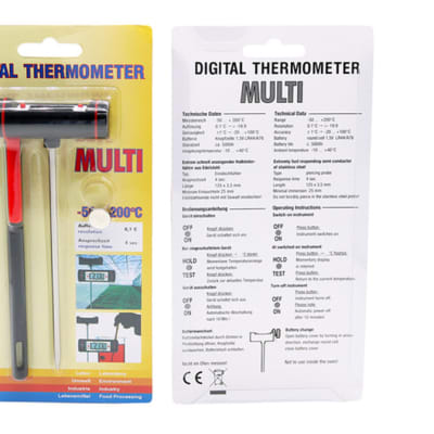 Butchers Knives - Multi Digital Electronic Thermometer image