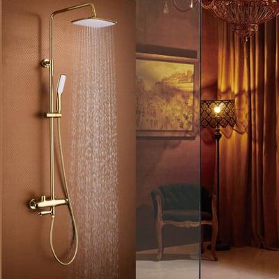 Bathroom shower - Full bathroom hot and cold brass shower - 0003  image