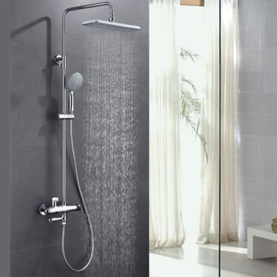 Bathroom shower - Full bathroom hot and cold chrome shower - 0003 image