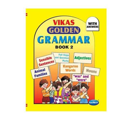 Vikas  Golden Grammar  Book 2 image