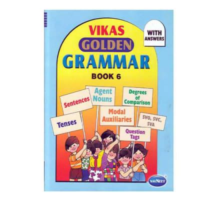 Vikas  Golden Grammar  Book 6 image