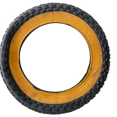 Tyre Fat-Tyre Yellow Grl Bicycle Tyres 62-203 image