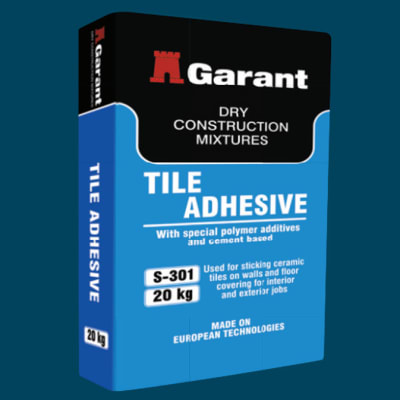 Adhesive Products - Tile Adhesive image