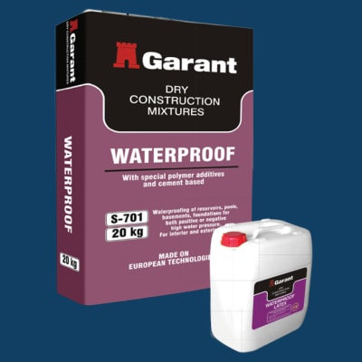 Dry Construction Mixtures - Waterproof image