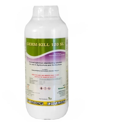Germ-Kill  120 Sl Broad-Spectrum Agricultural Disinfectant & Bactericide  image