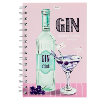 Gin Talk Notebook - Because You're Worth It image