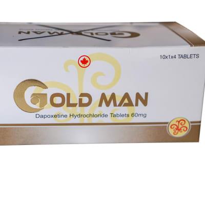 Goldman - Dapoxetine Hydrochloride tablets image