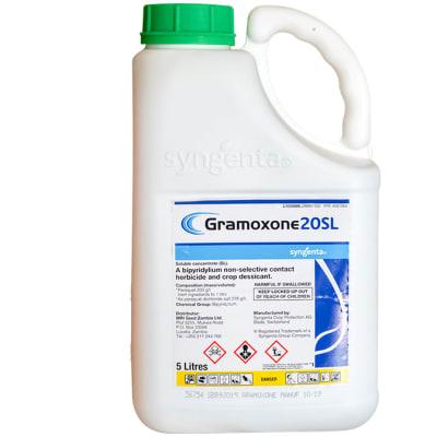 Gramoxone 20 Sl Non-Selective Contact Herbicide  1 Litre  image