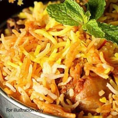 Special - Hyderabadi Chicken Dum Biryani image