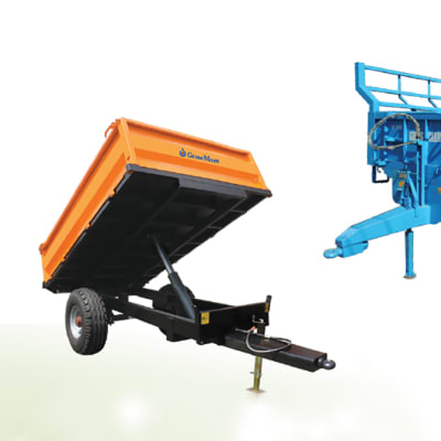 Single axle Tipping Trailer image