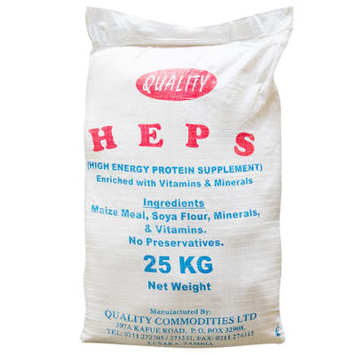 H.E.P.S Fortified High Energy Protein supplement - 25Kg image