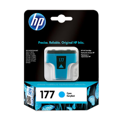 Printer Toner Cartridges - Hewlett Packard HP-177X Light Cyan Toner Cartridge image