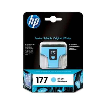 Printer Toner Cartridges - Hewlett Packard HP 177XL Light Cyan Toner Cartridge image